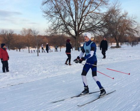 Orono Nordic Skis Over their First Finish Lines