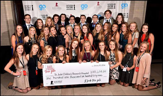 Hard Work and Fundraising Pays Off for Teens Working with St. Jude