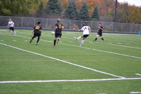 Boy's Soccer Kicking Into Gear