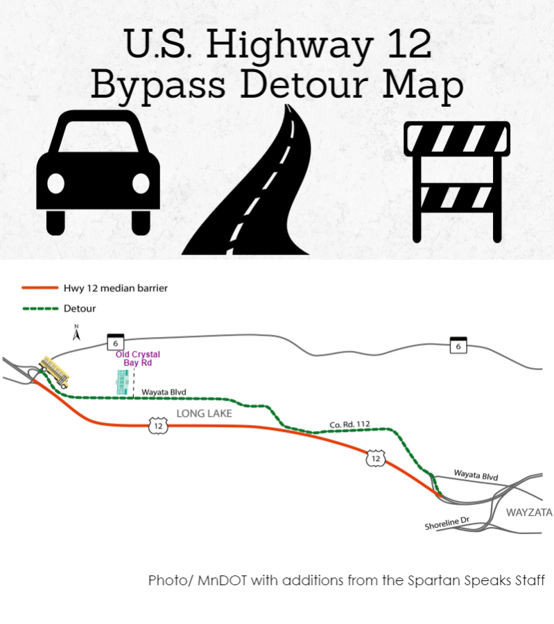U.S. Highway 12 Shutdown for Construction