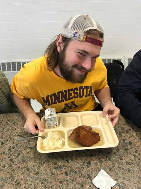 Students Crave the Pork Chop Day