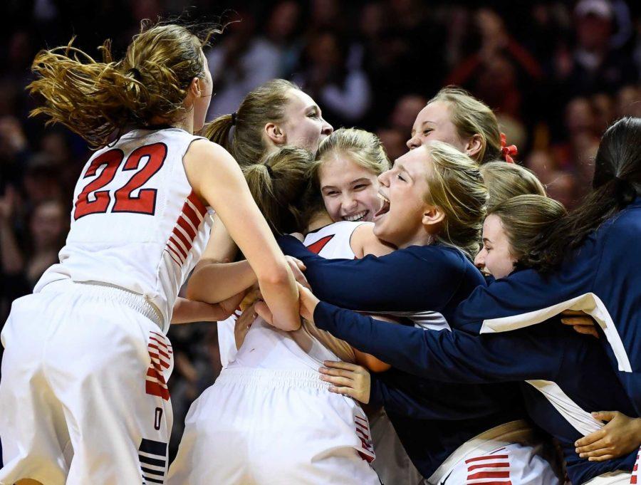 Orono Girls Basketball are State Champions