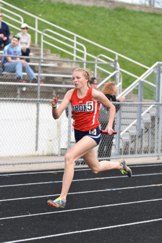 Track Star Running Her Way To First Place