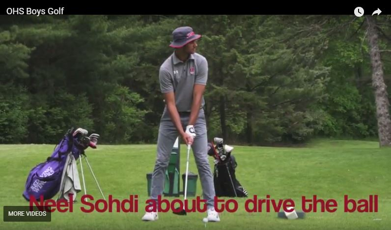 Neel+Sodhi+at+the+tee+box+during+the+Baker+Invitational+on+May+24.